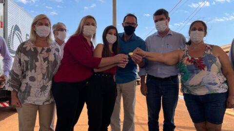 Governo do Estado entrega moradias à população de São Gabriel do Oeste