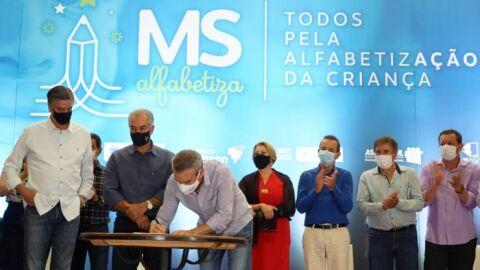 Deputados prestigiam lançamento do Programa MS Alfabetiza