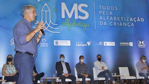 Governador lança MS Alfabetiza e anuncia ampliação de escolas em período integral