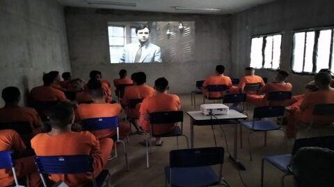 Cine Cultura é ferramenta de transformação na Penitenciária da Gameleira I