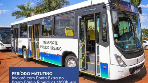 Dia de Finados terá transporte circular com destino final ao Cemitério Municipal.