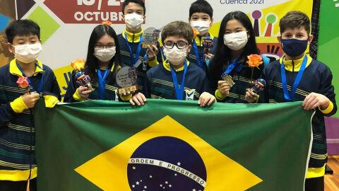 Garotada brasileira leva tênis 3 vezes ao pódio no Pan-Americano Sub-11 e Sub-13