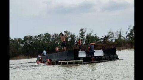 Vídeo: embarcação com 21 turistas afunda no Rio Paraguai em MS; 5 desaparecidos