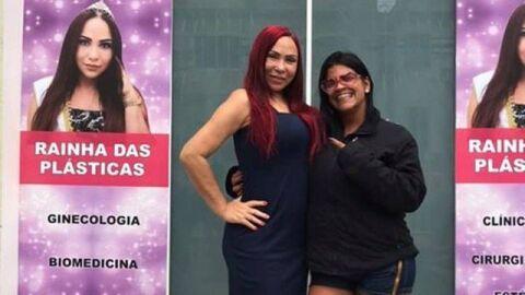"""""""Rainhas das plásticas"""" presta depoimento após morte de MC Atrevida"""