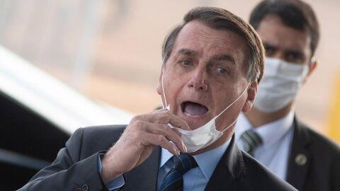 """Com 91 mil mortes por Covid-19, Bolsonaro diz: """"Tem medo do quê? Enfrenta"""""""