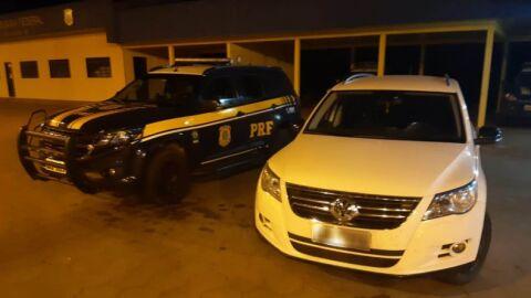 PRF recupera veículo furtado em São Paulo