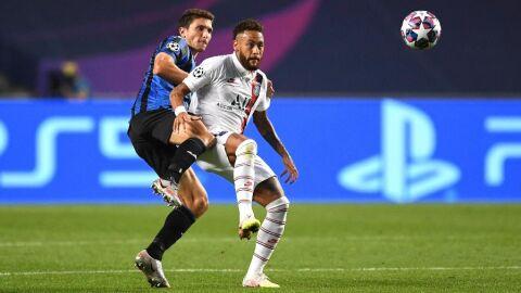 Em jogo emocionante, PSG vira no fim sobre Atalanta