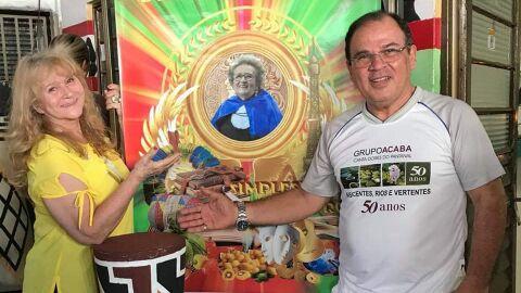 Homenagem a Glorinha é destaque cultural nos 121 anos da Capital
