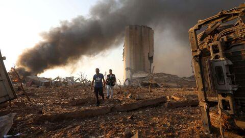 Ao vivo: missão brasileira embarca com toneladas de material a Beirute