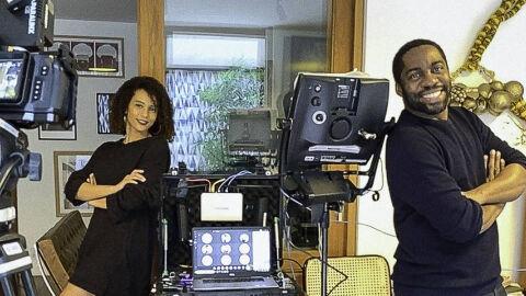 Taís Araujo e Lázaro Ramos mudam até humor ao gravar série de casa