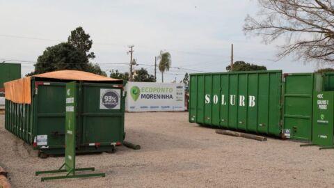 Moreninhas recebe instalação de Ecoponto para descarte de resíduos