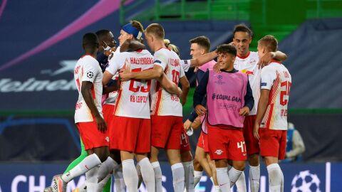 Leipzig vence Atlético e chega à semifinal da Liga dos Campeões pela primeira vez