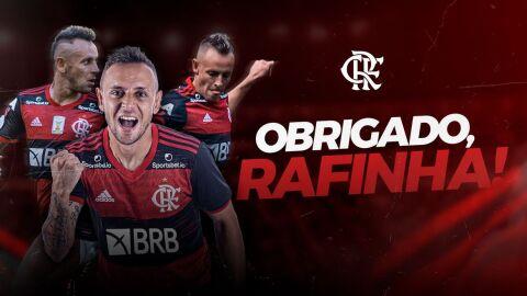 Marcos Braz confirma saída do lateral Rafinha, do Flamengo