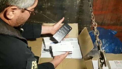 Eletrônicos avaliado em 2 milhões é apreendido em Terenos