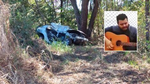 Cantor sertanejo morre em acidente grave