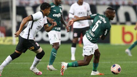 Corinthians e Palmeiras empate sem gols no 1° jogo da final do Paulistão