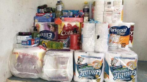 Asilo São João Bosco recebe doação de alimentos de Escola Municipal