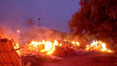PMA autua jovem de 23 anos por incêndio em madeira, raízes e galhadas