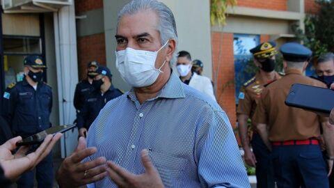 """""""Não acredito que o lockdown total possa ser a solução"""" diz Reinaldo Azambuja"""