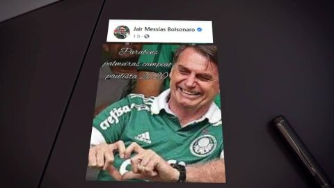 Bolsonaro mente que a Globo 'festejou' 100 mil óbitos e crítica lockdowns