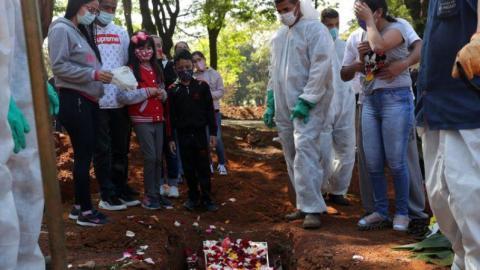 Brasil registra 1.060 novas mortes por Covid-19 e total atinge 106.523