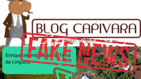 """Nova denúncia vazia em Maracaju cai no esgoto das """"fake news"""""""