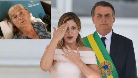 Avó de Michelle Bolsonaro morre de Covid-19 aos 79 anos em favela