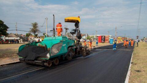 Com 10 km de recapeamento, Tiradentes terá todos os acessos com asfaltos