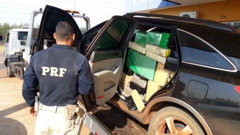 Carga de droga avaliada 1,3 milhões é apreendida na BR-158