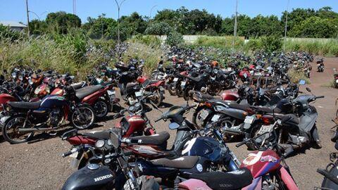 Mais de mil motocicletas estarão disponíveis em Operação Pátio Zero do Detran