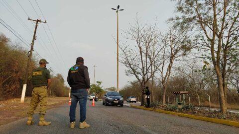 Agepan e Detran deflagram operação contra o transporte clandestino em MS