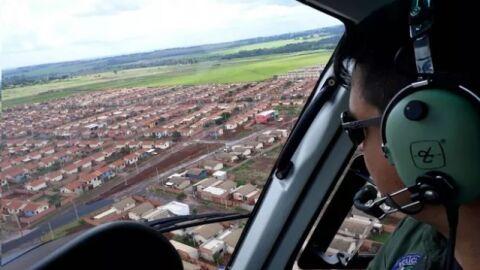 Empresário é vítima de assalto na fronteira e criminosos são caçados até com helicóptero na Capital