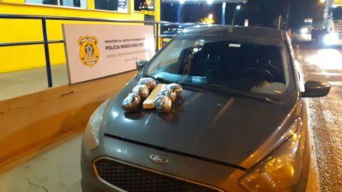 Motorista é preso com 2,3 Kg de maconha na BR-163