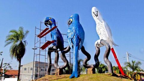 Campanha arrecada 5 mil bolsas de sangue e finaliza pintura de arara na Capital