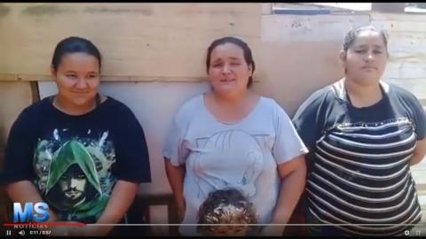 Vídeo: mulheres pedem ajuda para 85 famílias em favela afastada na Capital