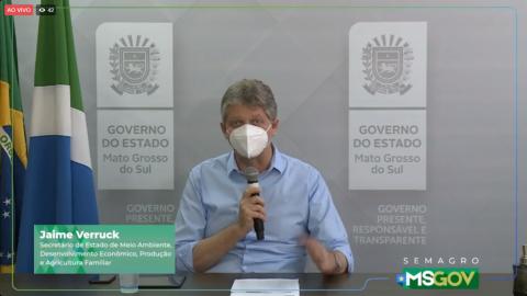 Ao vivo: relatório de combate à incêndios da Operação Pantanal II