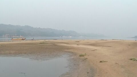 Nível do rio Paraguai atinge marca 'zero' em régua do porto
