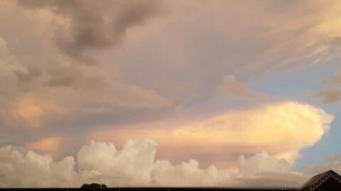 """Chuva """"passará reto"""" de Coxim, nesta 6ª-feira o 2º município mais quente de MS"""