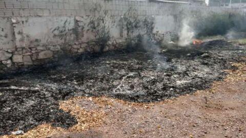 Homem leva multa de R$ 5 mil por colocar fogo em terreno