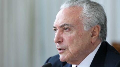 Temer diz defender semiparlamentarismo no Brasil e fim da reeleição