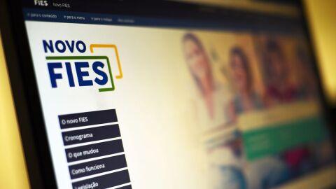 Governo anuncia abertura de inscrições para 50 mil vagas remanescentes do Fies
