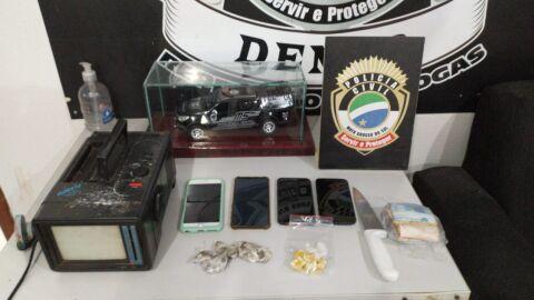 Polícia Civil prende trio de jovens por tráfico de drogas em Campo Grande