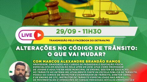 Detran-MS fala sobre Mudanças no Código de Trânsito Brasileiro
