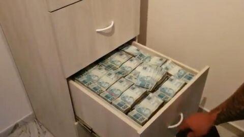 Vídeo: polícia acha R$ 8 milhões em gavetas de dono de farmácias