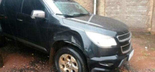 PM do Assentamento Itamarati recupera caminhonete roubada na Capital e prende autor