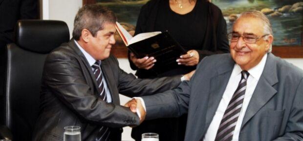 Jerson Domingos toma posse como conselheiro do Tribunal de Contas