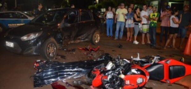 Empresário do ramo de motos morre em colisão no centro de Dourados