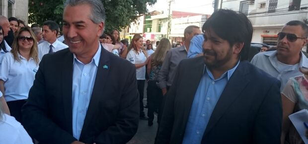 Reinaldo Azambuja e Wilton Acosta.