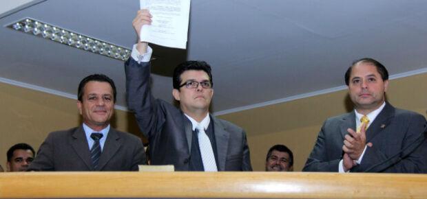 Dia da posse do prefeito Gilmar Olarte - Foto: arquivo