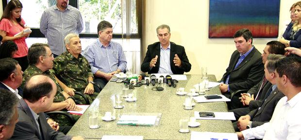 Governo do estado aguarda autorização de Dilma para iniciar ações com exército. Wanderson Lara